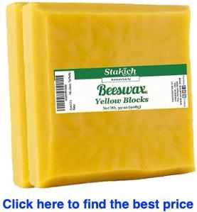 buy Stakich Yellow Beeswax Blocks