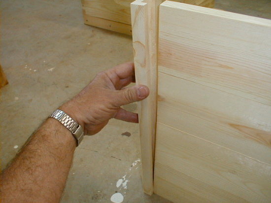 honey bee hive outer cover assembly - adding side rails