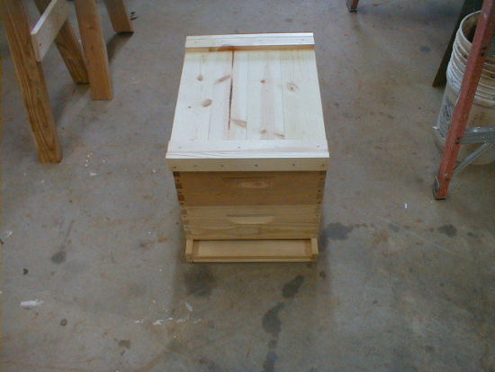 honey bee hive outer cover assembly complete